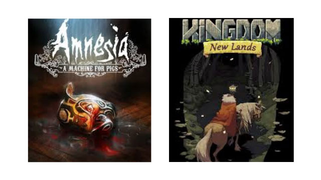 Epic Games Store Free Games Amnesia: A Machine for Pigs and Kingdom: New Lands