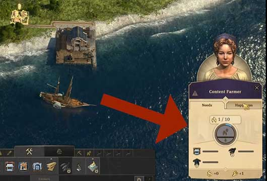 Anno 1800 How to Make Money - Population Sign