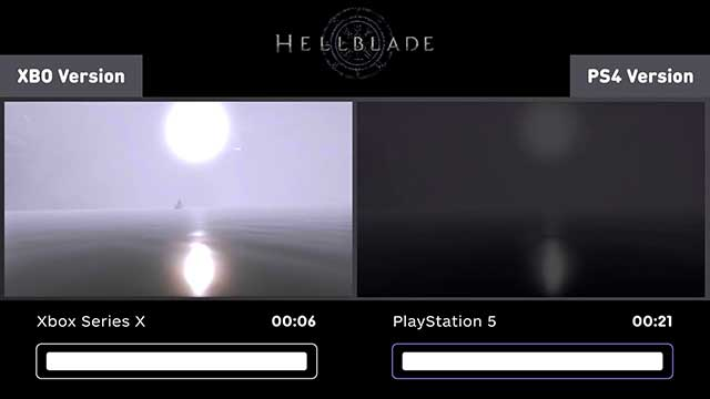 PS5 vs Xbox Series X Games Loading Comparison - Hell Blade