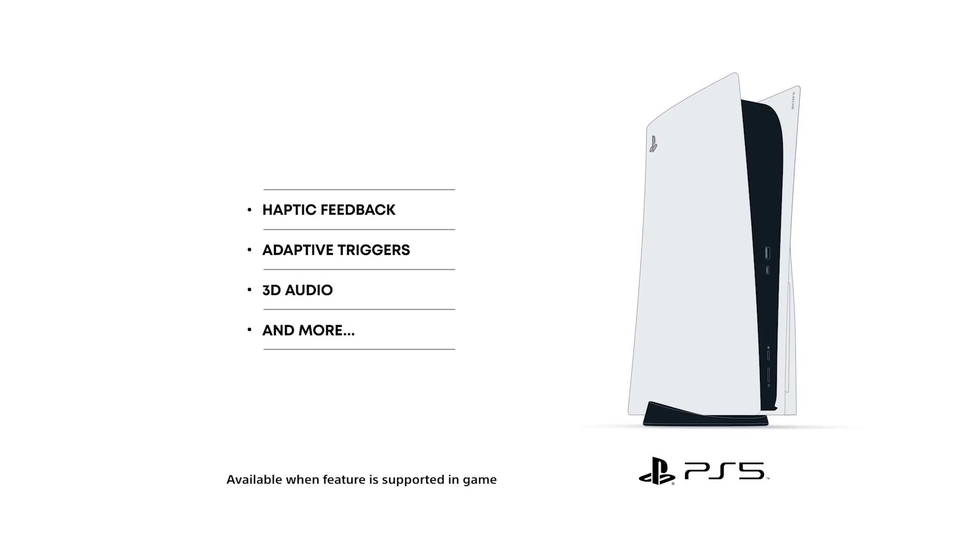 PlayStation 5 Settings and Features
