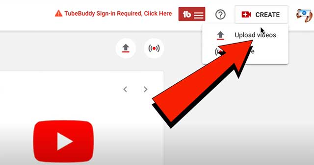 How to Create and Upload YouTube Shorts From PC, Laptop - click upload videos