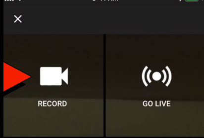 How to Create and Upload YouTube Shorts on iPhone - Record