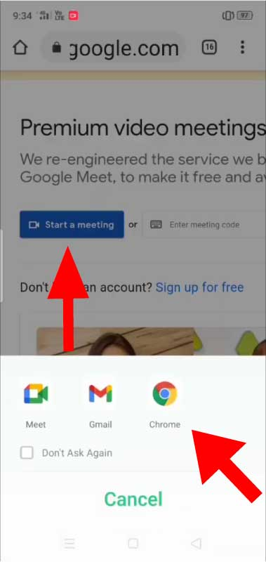 How to Change Background in Google Meet in Android Mobile Phone, iPad and Tablet - Google Chrome Meetings