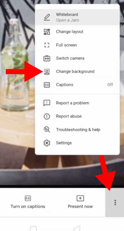 How to Change Background in Google Meet in Android Mobile Phone, iPad and Tablet - Google Meet Change Background Option